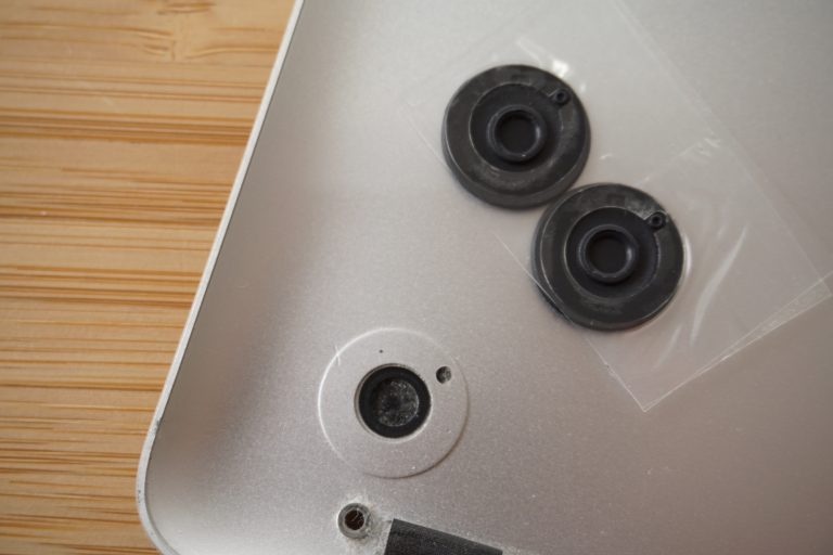 Replace MacBook Pro rubber feet with and without Apple's help