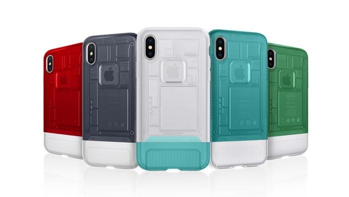 Spigen offers iPhone X cases in iMac G3 design