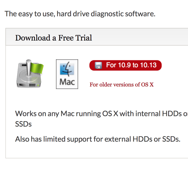 How to check the hard drive SMART status on macOS