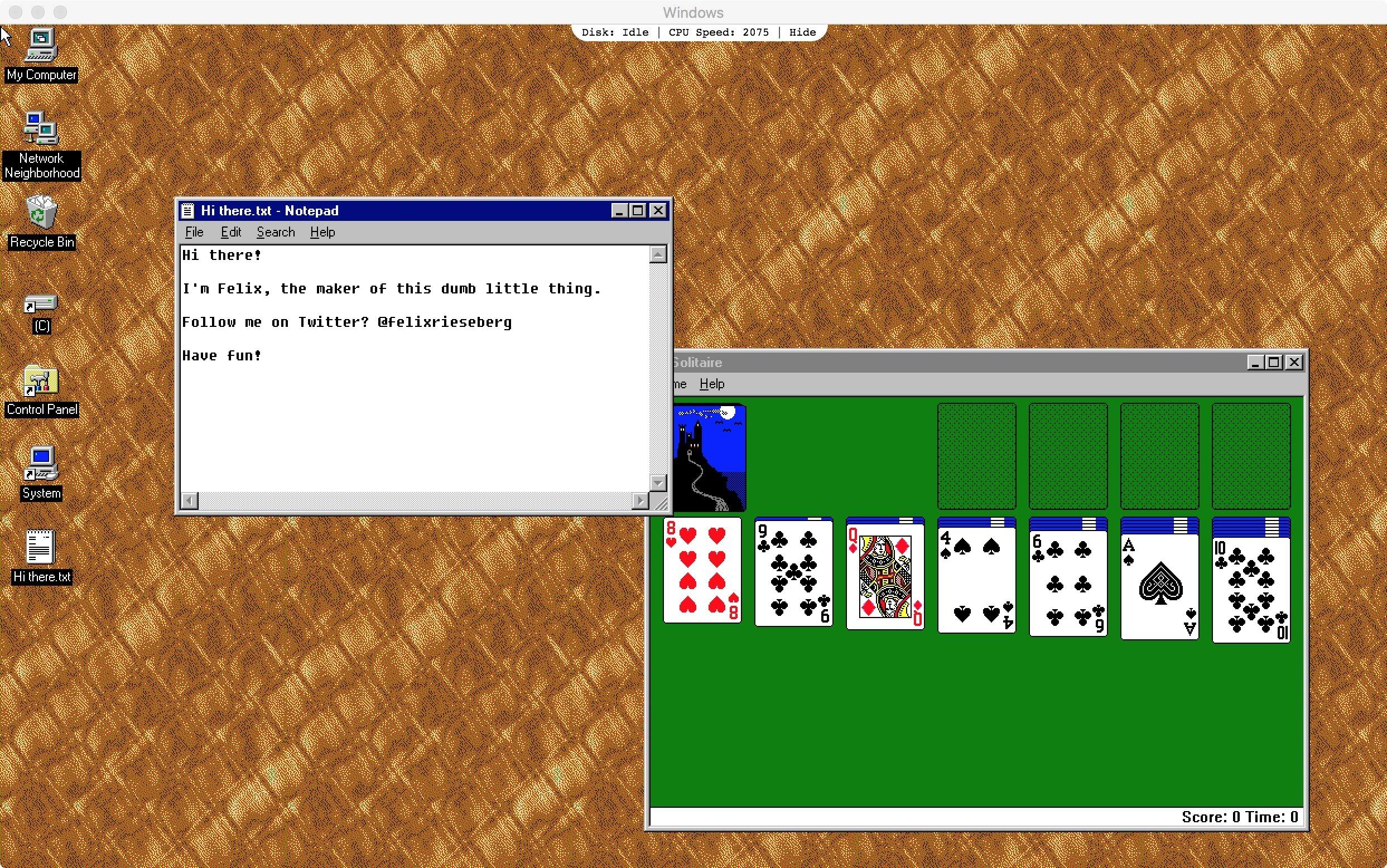 Very retro: Try Windows 95 as an app on macOS - mac&egg