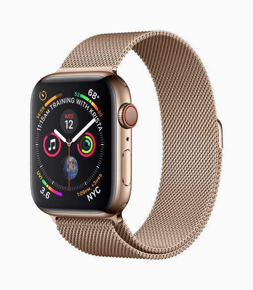 Apple Watch Series4 Gold Milanese 09122018