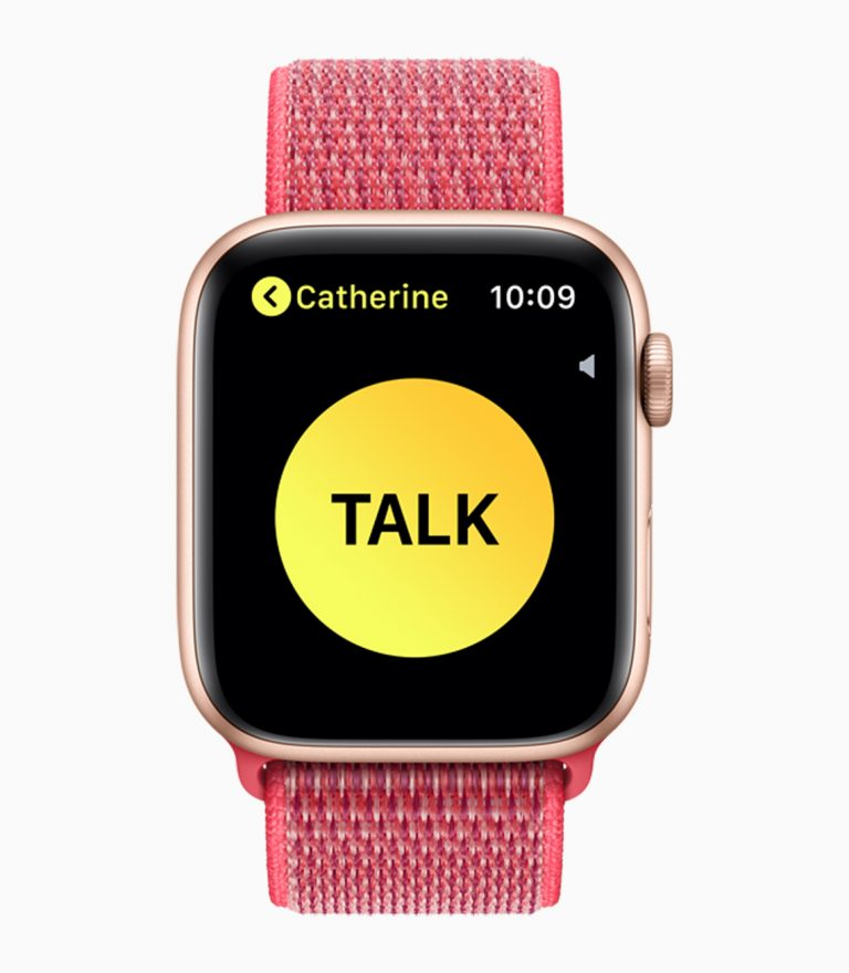 Walkie Talkie function on Apple Watch currently not available