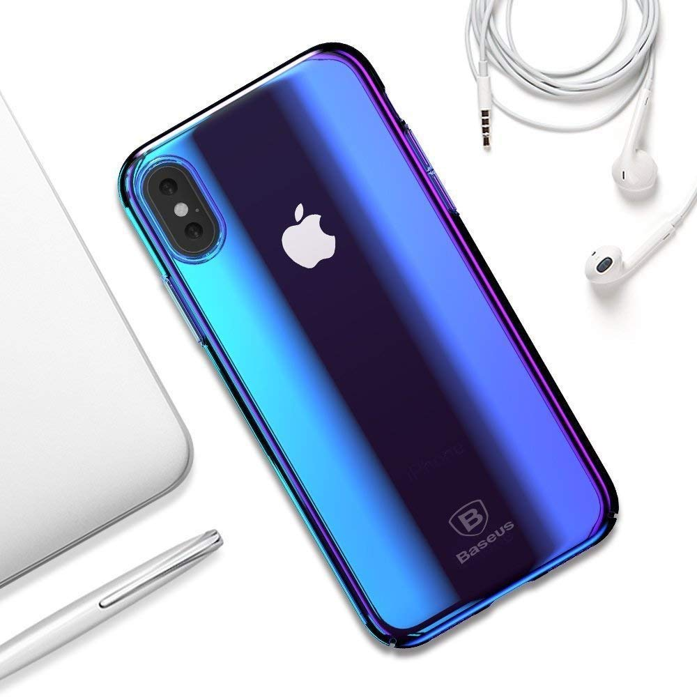 newest 6b089 8ff3f Glossy colorful cases for iPhone Xs and Xs - mac&egg