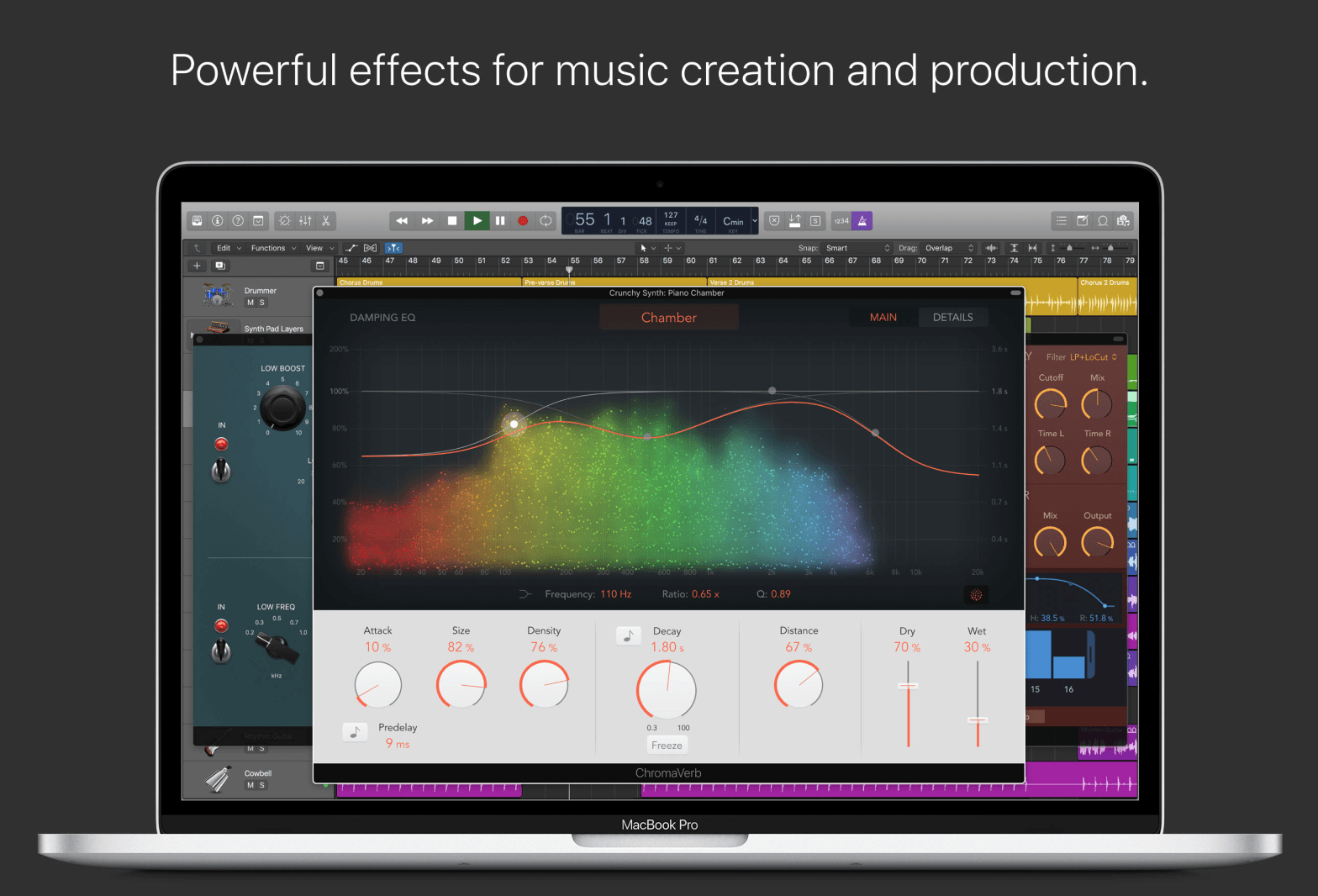 Bugfixes and new Functions for watchOS, Logic Pro X and MainStage