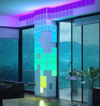 Nanoleaf Canvas: Square smart lightning for the wall