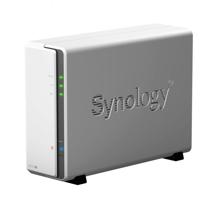 DiskStation DS119j: New small Synology with dual core processor