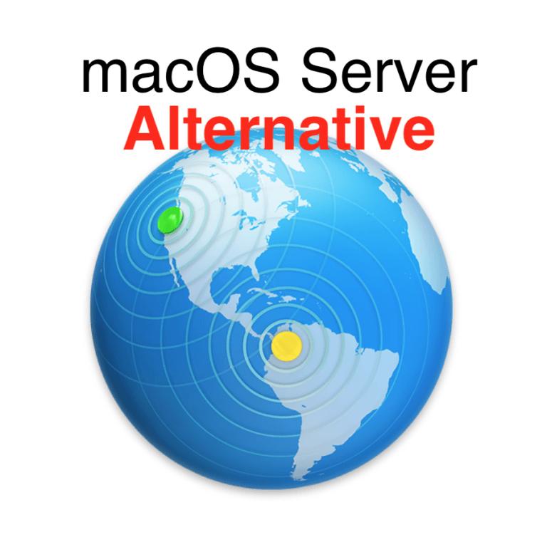 Apple macOS Server Alternative: Univention Corporate Server