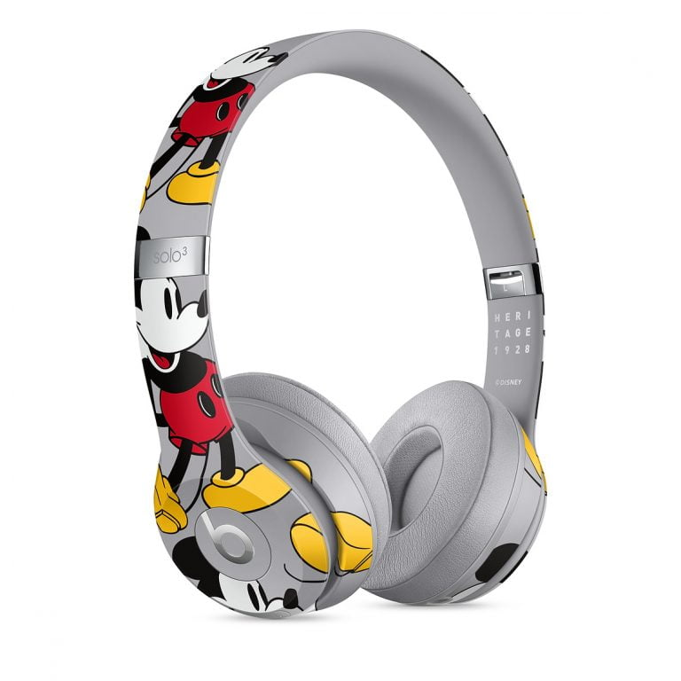Beats Solo3 Wireless Headphones as Mickey Mouse and Skyline Edition