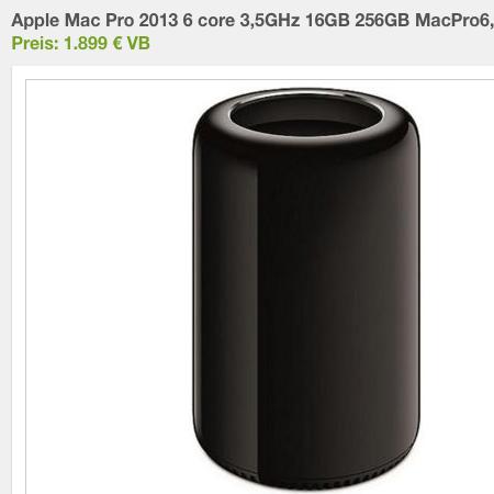 gebrauchter mac pro