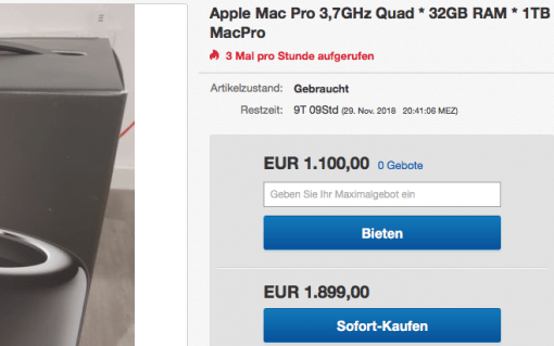 mac pro 2013 quad
