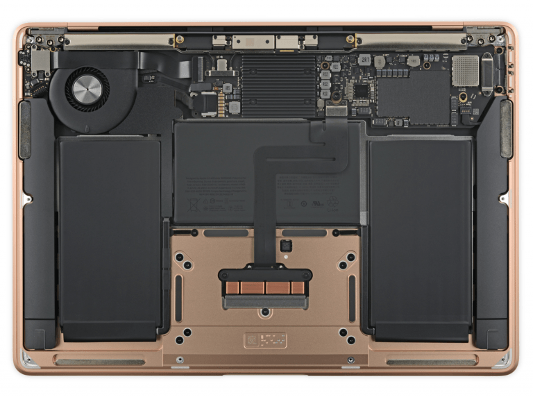 MacBook Air 2018: Easily replaceable battery, separate touch ID sensor
