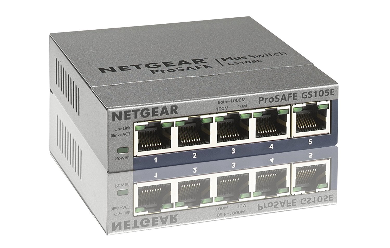 Netgear Switch GS105Ev2 with german and japanese interface