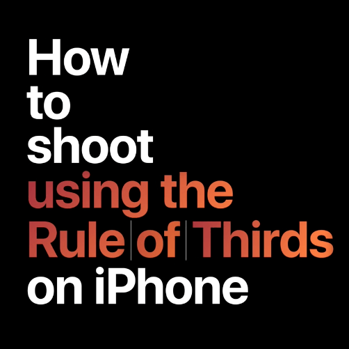 More How to Videos for the iPhone Camera