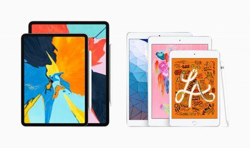 New iPad air and iPad mini with Apple Pencil 03182019