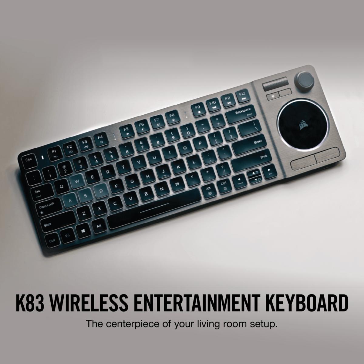 tastatur corsair k83 apple tv