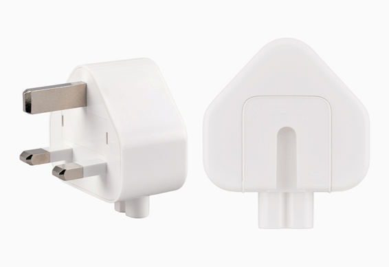 Apple recalls three-pole adapter plug for power supply