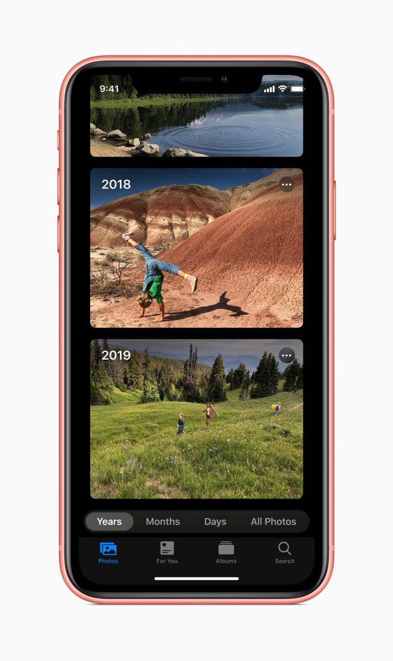 All new: watchOS, iPad OS, HomeKit Cameras, iOS 13