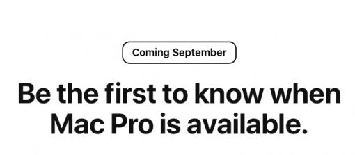 mac pro september