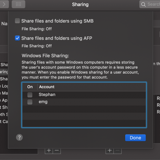 Fix: macOS 10 14 Mojave SMB does not work, Finder crashes - mac&egg
