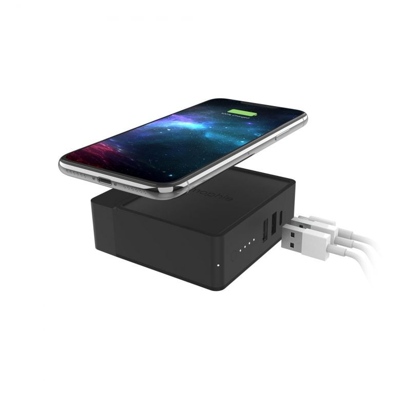 Mophie Powerstation Hub: Power Supply, Battery, Qi-Charger