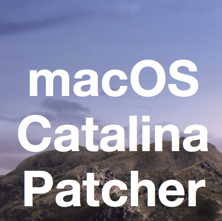 macOS Catalina Patcher: 10.15 on old Macs