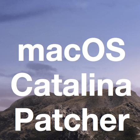 macos 10.15 catalina patcher