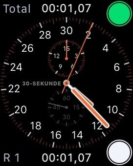 Careful: Apple Watch stopwatch displays time incorrectly