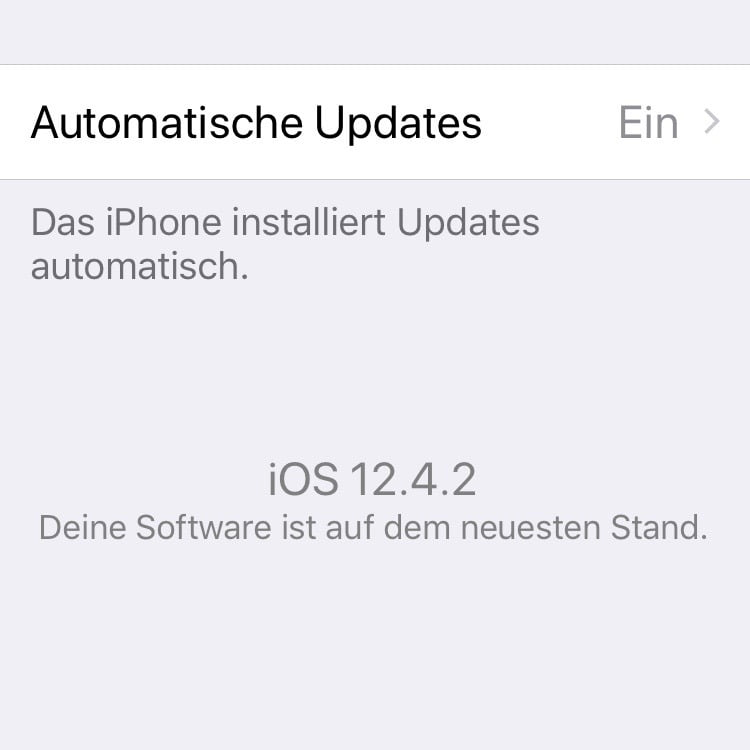 Apple Watch 4: watchOS 5.3.2 update under iOS 12.4 not possible