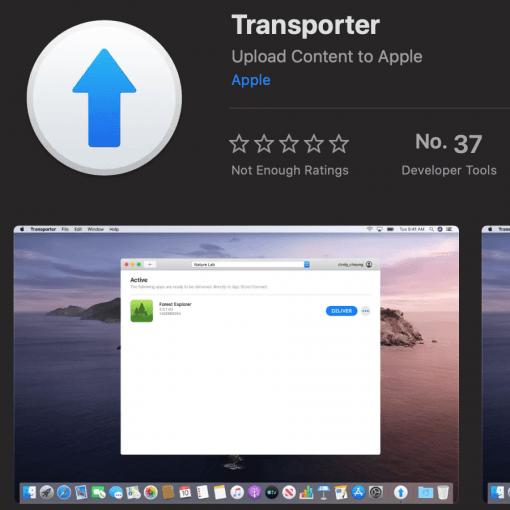 apple transporter app