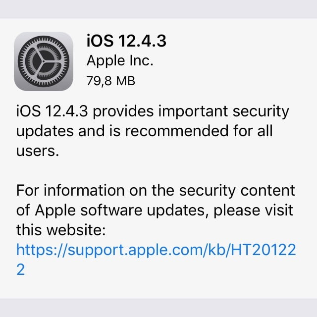 Super: Update for iOS 12 on older devices