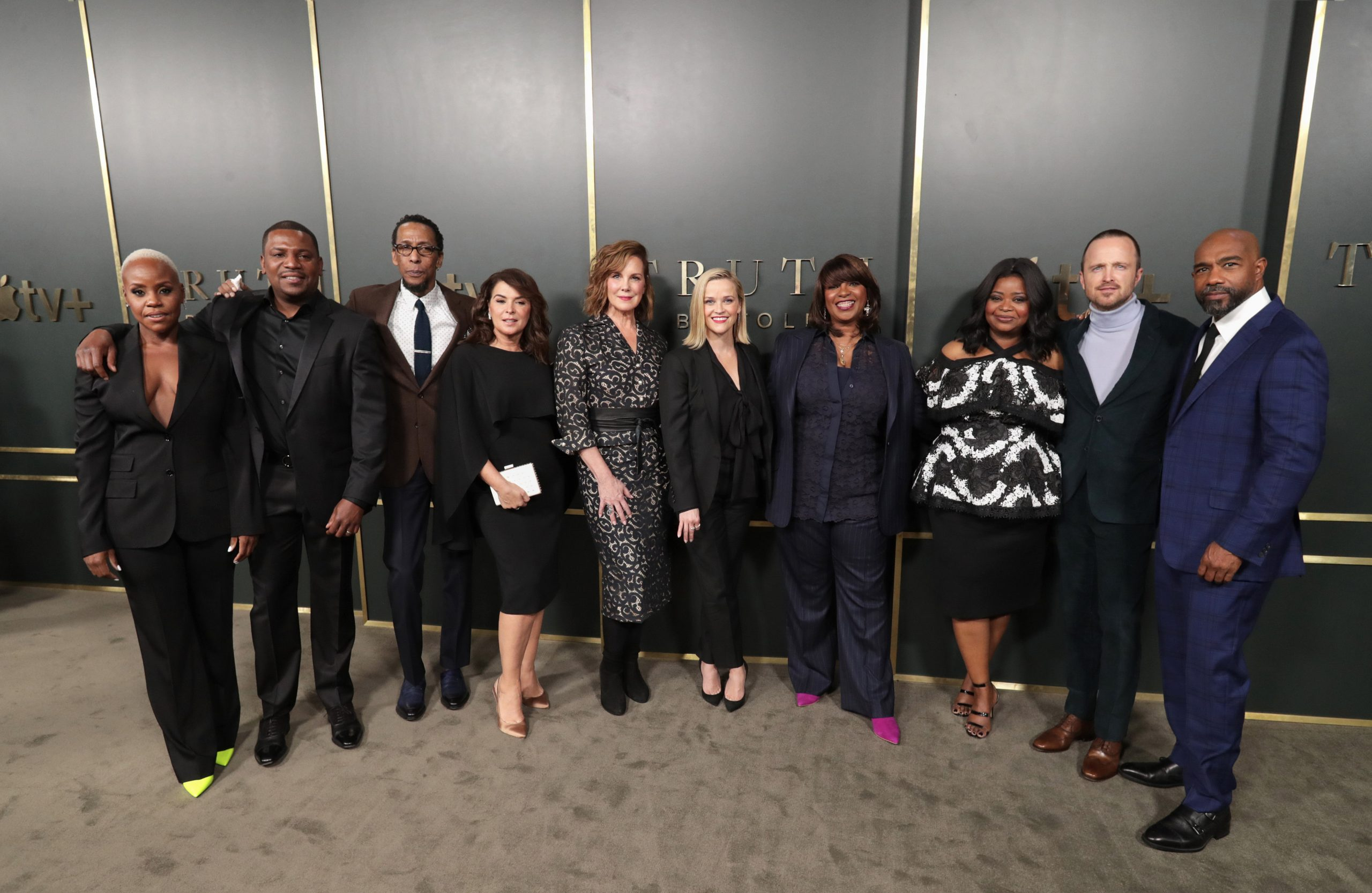 Apple Truth Be Told Premiere The Cast And The Executive Producers