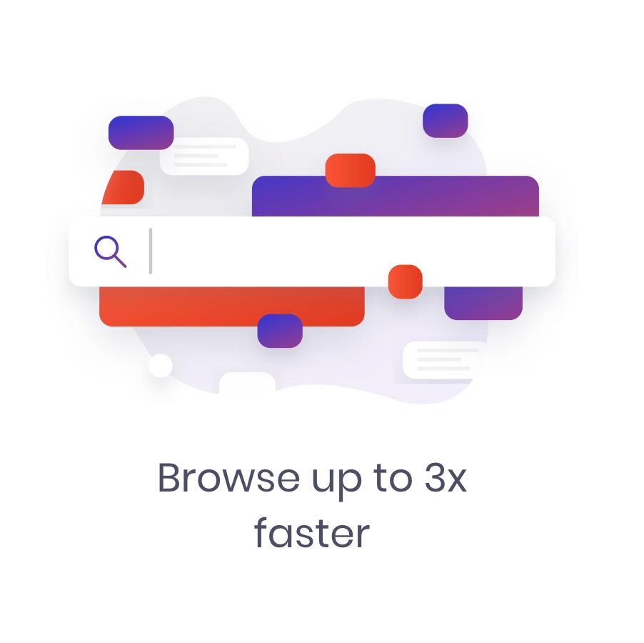 brave ios faster browsing adblocker
