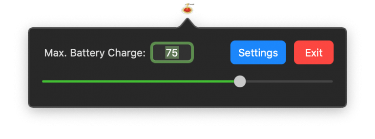 Use on Power Supply: Limit MacBook Battery Charge to 70%