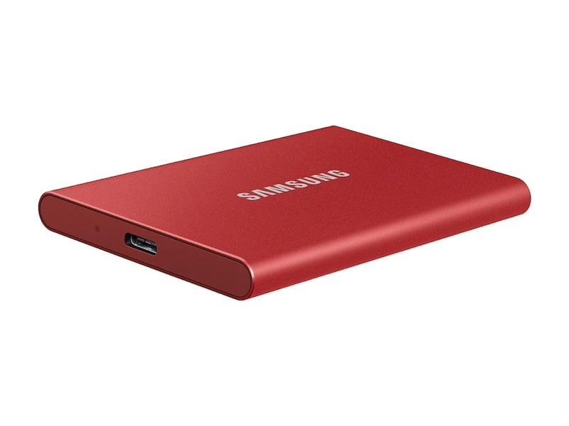 Samsung Ssd T7 Red
