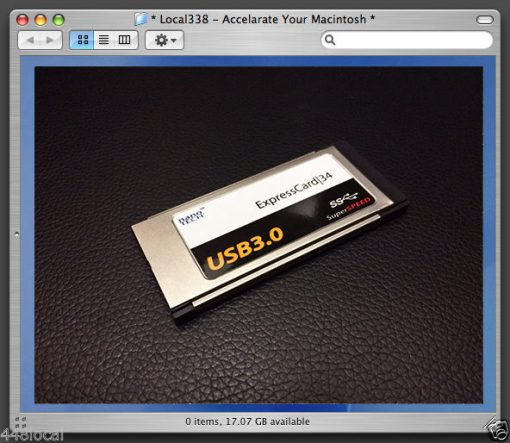 MacBook Pro USB 3.0 Express Card
