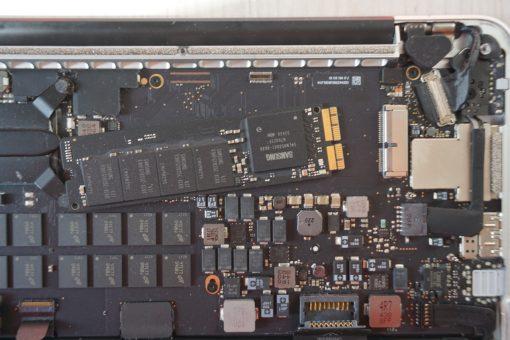MacBook Pro Upgrade Remove Old SSD