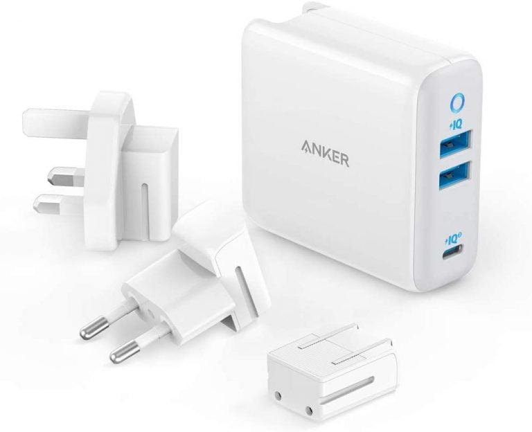 Anker PowerPort III 3-Port USB-C 65 Watts Power Supply