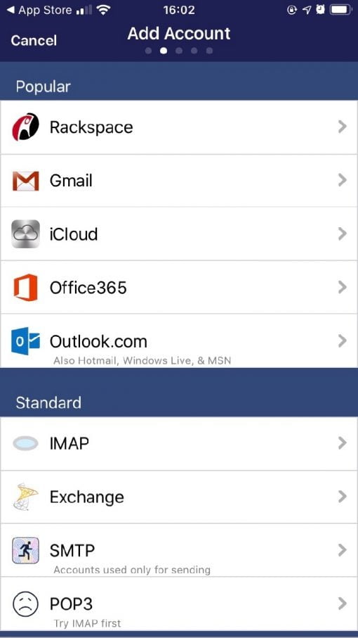 Preside iOS IMAP Client