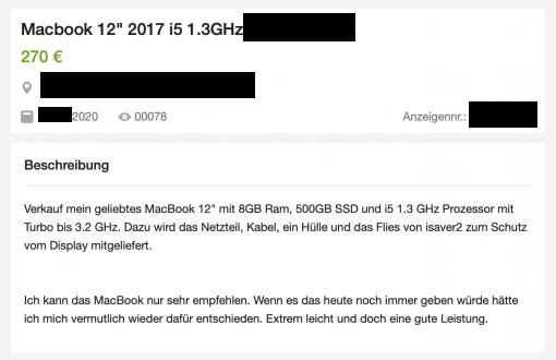 Ebay Kleinanzeigen Betrug Beschreibung