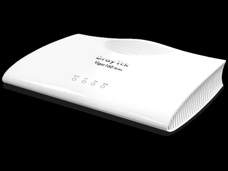 DrayTek Vigor 166 G.Fast Supervectoring VDSL modem for fiber
