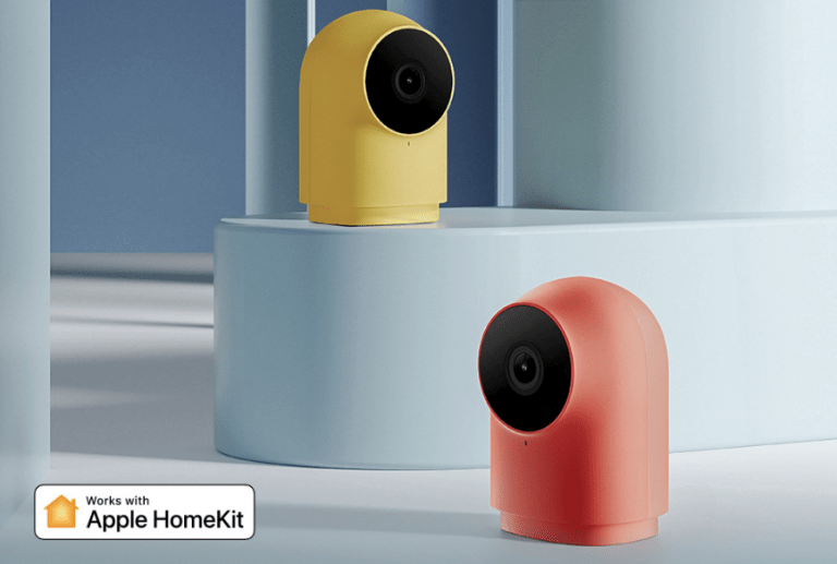 Xiaomi Aqara G2H HomeKit camera with integrated hub