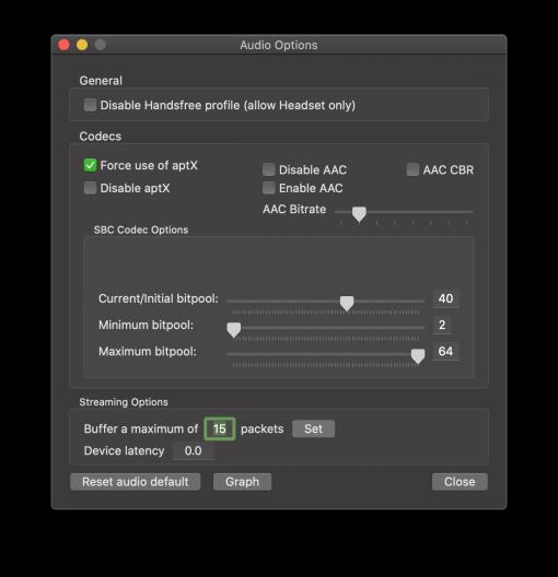 macOS Bluetooth Explorer