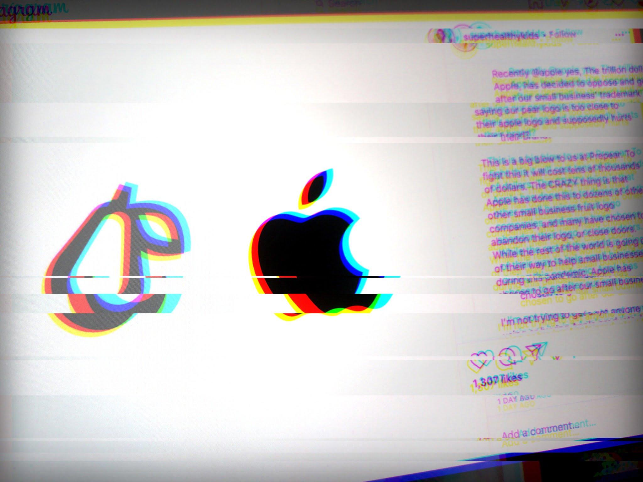 Birne vs Apple