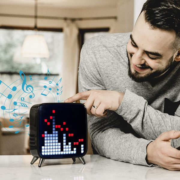 Divoom Tivoo Max Smart Portable Bluetooth LED Speaker Use
