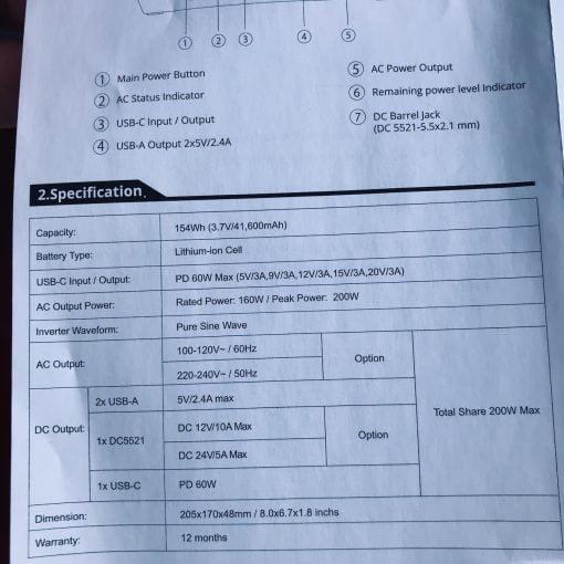 Litionite Raiden Charging Details
