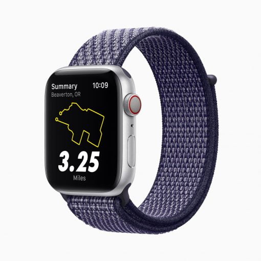 Apple Watch Series 6 Nike purple