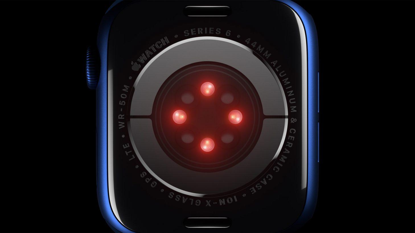 Apple Watch Series 6 Sauerstoff Sensor