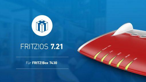 FritzBox 7430 7.21