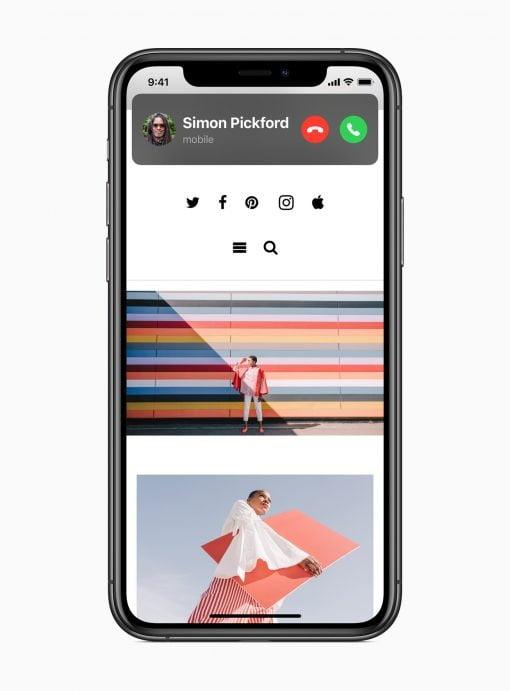 iOS 14 Incoming Call