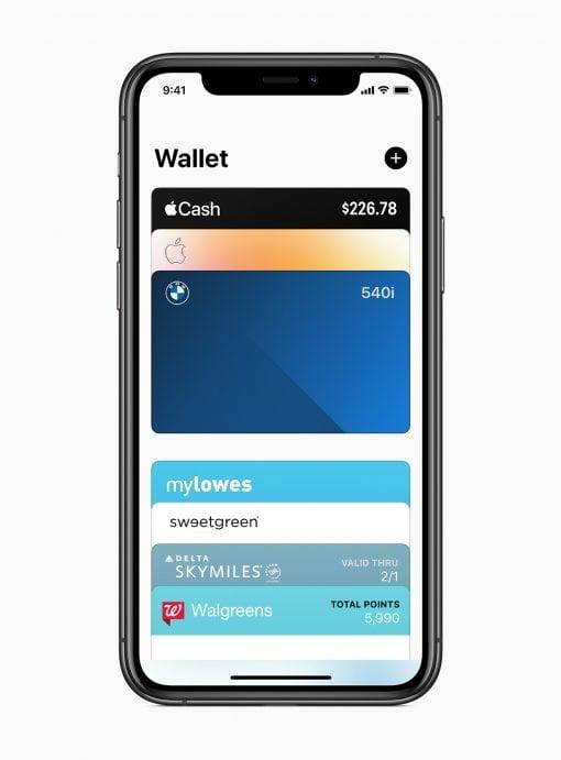iOS 14 Wallet